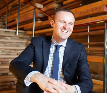 Chief Minister Andrew Barr MLA